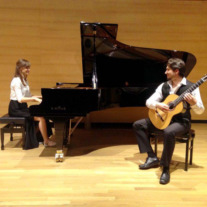 Dos solistas, dos orquestas